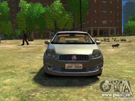 Fiat Linea für GTA 4 Rückansicht