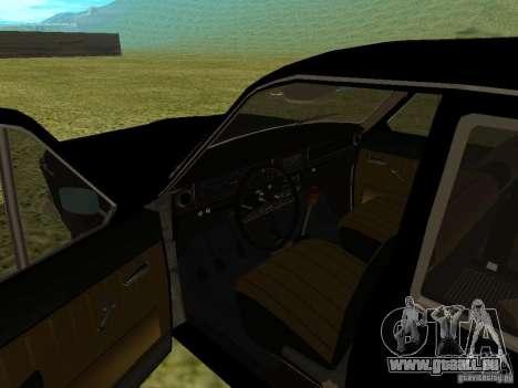 Volga GAZ-24 01 für GTA San Andreas Rückansicht