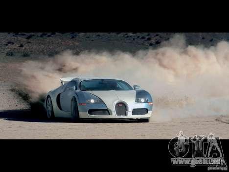 Écrans de chargement Bugatti Veyron pour GTA San Andreas quatrième écran
