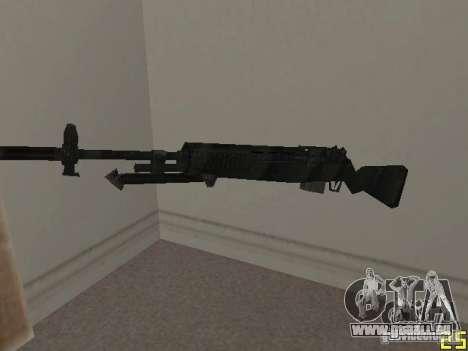 Armes de la COD MW 2 pour GTA San Andreas deuxième écran