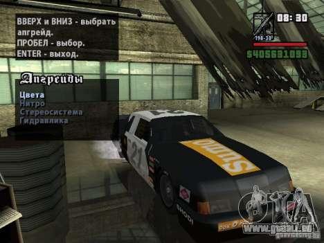 Transfender fix pour GTA San Andreas deuxième écran