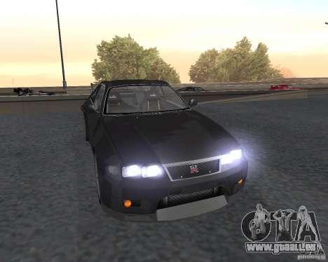 Nissan Skyline GT-R R-33 für GTA San Andreas Seitenansicht