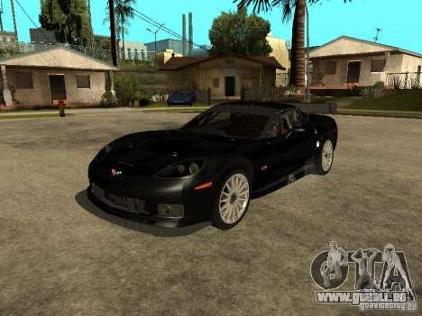 Chevrolet Corvette C6.R für GTA San Andreas