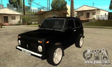 VAZ 21213 NIVA teinté pour GTA San Andreas