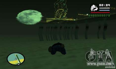 0,075 ENBSeries (juste de l'eau) pour GTA San Andreas huitième écran