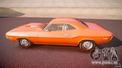 Dodge Challenger v1.0 1970 pour GTA 4 est une gauche