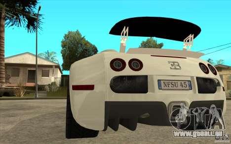 Spoiler für das Bugatti-Veyron-Finale für GTA San Andreas