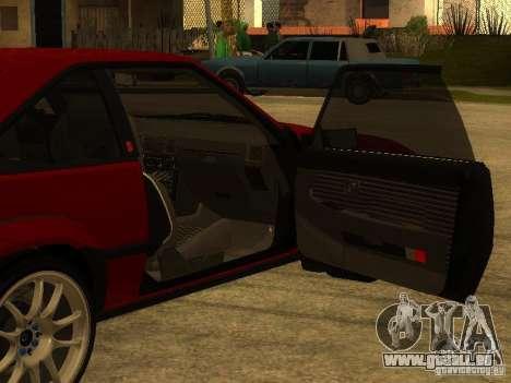 Toyota Celica Supra pour GTA San Andreas salon