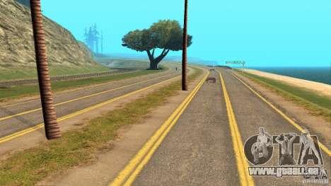 New HQ Roads pour GTA San Andreas quatrième écran