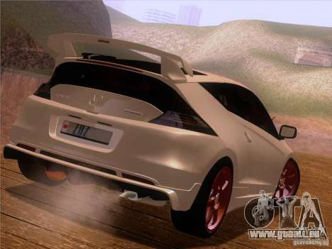 Honda CR-Z Mugen 2011 V2.0 pour GTA San Andreas vue de côté