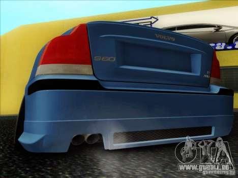 Volvo S60 für GTA San Andreas Rückansicht