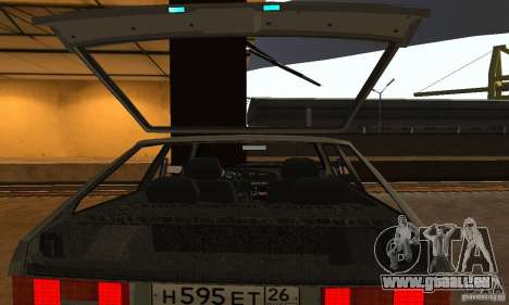 Vaz 2113 Suite v.1.0 pour GTA San Andreas vue de dessous