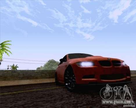 BMW M3 GT-S Fixed Edition pour GTA San Andreas vue de droite