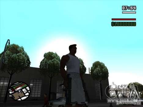 TMP pour GTA San Andreas deuxième écran