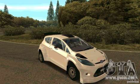 Ford Fiesta Rally pour GTA San Andreas moteur