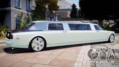 Rolls Royce Phantom Sapphire Limousine Disco pour GTA 4 est une gauche
