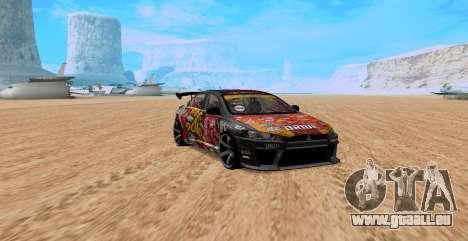 Mitsubishi Lancer Evolution RYO Vatanabe pour GTA San Andreas