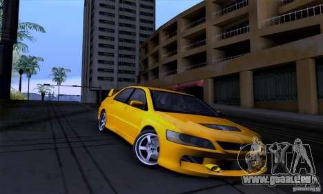 Mitsubishi Lancer Evolution IX 2006 pour GTA San Andreas