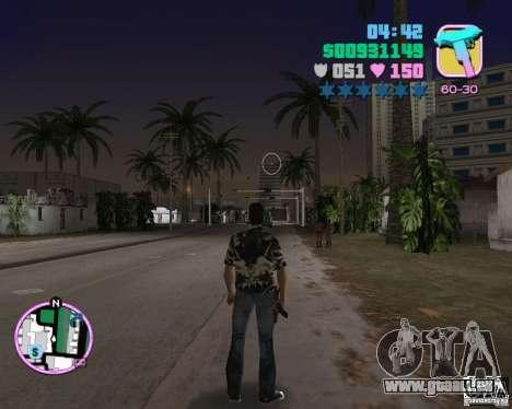 Vercetti Gang Verschleiß für GTA Vice City fünften Screenshot