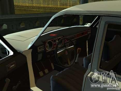 GAZ 3102 pour GTA San Andreas vue arrière