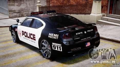Dodge Charger NYPD Police v1.3 pour GTA 4 est un droit