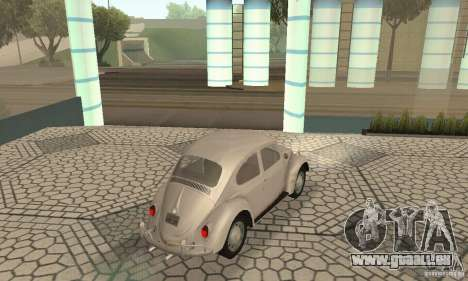 Volkswagen Beetle 1963 für GTA San Andreas linke Ansicht