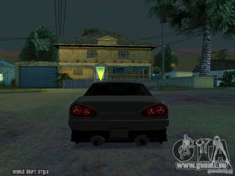 ELEGY BY CREDDY pour GTA San Andreas sur la vue arrière gauche