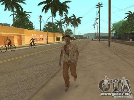 Zombie pour GTA San Andreas quatrième écran