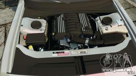 Dodge Challenger SRT8 392 2012 für GTA 4 obere Ansicht
