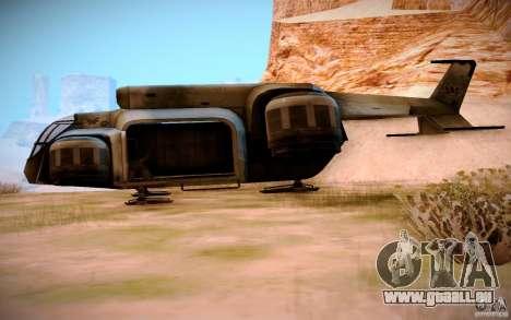 BTR-20 Yastreb pour GTA San Andreas laissé vue