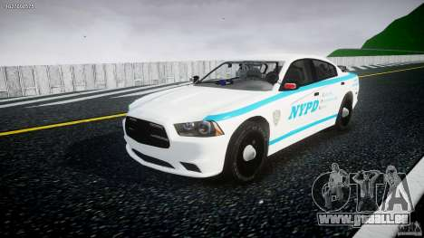 Dodge Charger NYPD 2012 [ELS] für GTA 4
