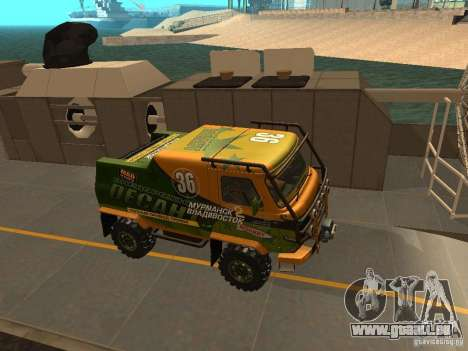 UAZ 2206 Expedition für GTA San Andreas Innenansicht