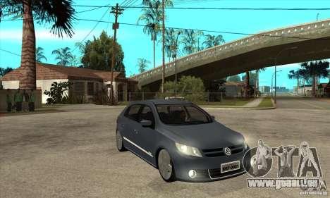 Volkswagen Gol G5 für GTA San Andreas Rückansicht