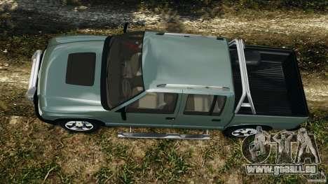 Chevrolet S-10 Colinas Cabine Dupla pour GTA 4 est un droit