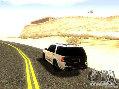 Ford Expedition 2008 für GTA San Andreas Rückansicht