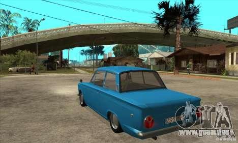 Lotus Cortina Mk1 1963 pour GTA San Andreas sur la vue arrière gauche