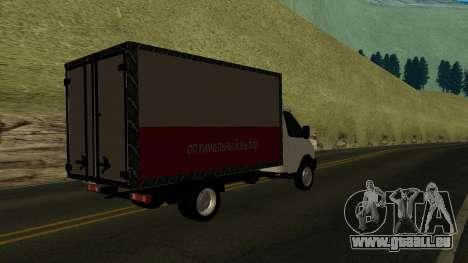 3302 Gazelle v2 pour GTA San Andreas laissé vue