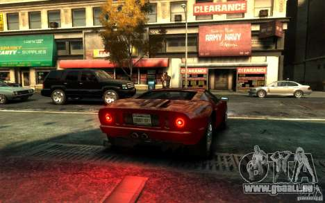 Ford GT für GTA 4 linke Ansicht