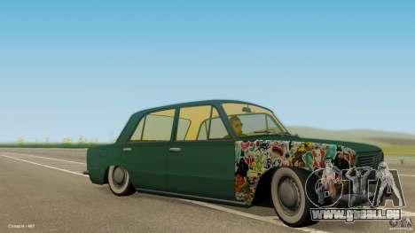 VAZ 2101 Low & Classic für GTA San Andreas