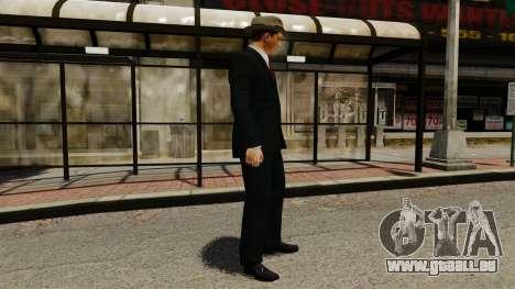 Cole Phelps für GTA 4 Sekunden Bildschirm