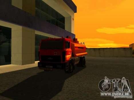 Camion MAZ pour GTA San Andreas
