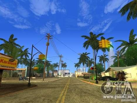 BM Timecyc v1.1 Real Sky pour GTA San Andreas quatrième écran
