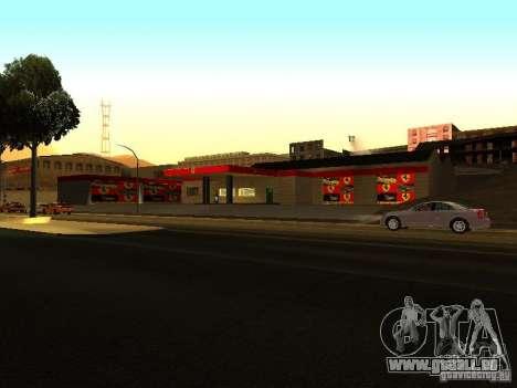 Le garage Ferrari dans Dorothy pour GTA San Andreas