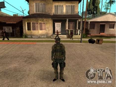 Der Haut-Armee-Ingenieur für GTA San Andreas