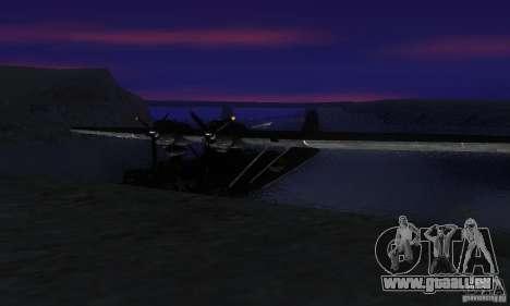 PBY Catalina für GTA San Andreas rechten Ansicht