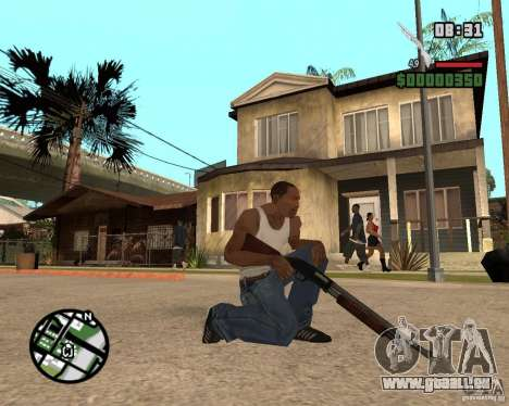 Chromegun HD für GTA San Andreas