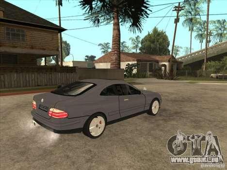 Mercedes-Benz CLK320 Coupe pour GTA San Andreas vue de droite