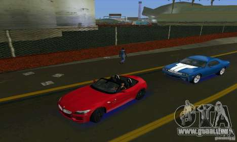 BMW Z4 V10 2011 pour GTA Vice City