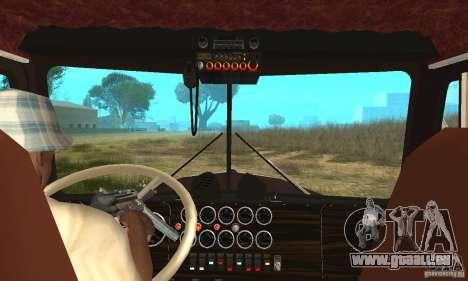 Kenworth Car Hauler pour GTA San Andreas vue de droite