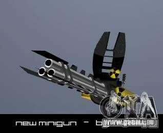 Minigun für GTA San Andreas